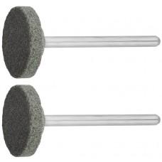 Круг ЗУБР абразивный шлифовальный из карбида кремния на шпильке, ЗУБР, 35916