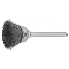 Щетка ЗУБР кистевая, нержавеющая сталь, на шпильке, ЗУБР, 35933