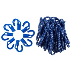 Шнур резиновый крепежный с переставными крюками, ЗУБР, ЭКСПЕРТ, 40511