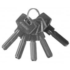 Заготовка ключа для цилиндрового механизма, компьютерный тип, 5шт., ЗУБР, ЭКСПЕРТ, 52196_z01