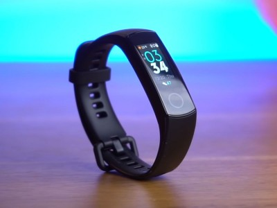 Huawei has announced a new fitness bracelet Honor Band 5